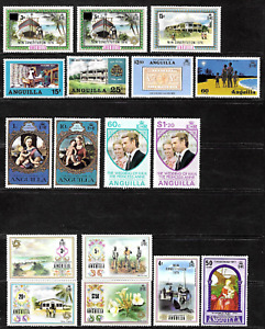Anguilla .. Superb Stamp Collection .. Mint never hinged (MNH).. 5012
