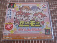 MINI-MONI DICE DE PYON! PSX PS1 JAPAN IMPORT PLAYSTATION NEW SEALED KONAMI