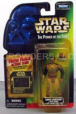 Star War PotF Skiff Guard Lando Calrissian Freeze Frame Action Figure Kenner NIP