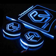 VER.2 LED CUP PLATE Console Blue for 2011 2016 Hyundai Veloster & Turbo