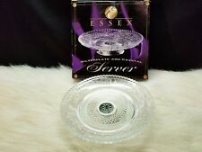 Essex Silverplate and Crystal Server