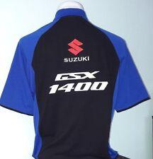 """SUZUKI GSX 1400""  Polo-Shirt, ZWEIFARBIG,  NEU!"