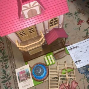 Sylvanian Families big house of sparkling water From japan