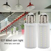 E27 LED Lamp 220V 18W 80LED Corn Light Bulb Chandelier Modern Home Room Lighting