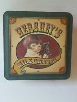 Hersheys Vintage Edition#5 square tin box good condition. 1999