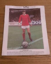 "Circa 1969/70 Ty-Phoo Tea Collector's Card Manchester United George Best 10""x 8"""