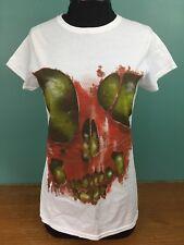 NEW The Undead Bloody Skull T Shirt Horror Block September 2014 - Women's Medium