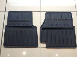 Defender 2007 Upto Vin BA999999 Front Rubber Mat Set (LR005039)