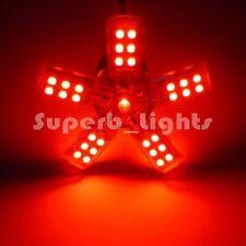 2x 1157 BAY15D RED 41-SMD TAIL BRAKE STOP TURN SPIDERLITE LED CAR LIGHT BULB A
