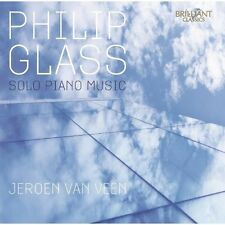 Jeroen van Veen, P. Glass, NYU Steel, Raybeats - Solo Piano Music [New CD]