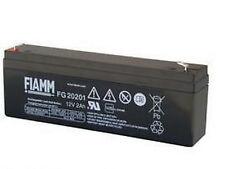 Batteria ricaricabile FIAMM 12 V 2 A FG20201