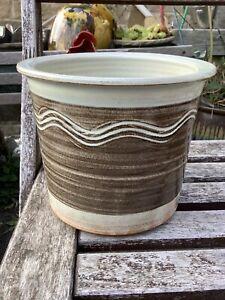 Studio Pottery Signed Plant Pot Holder