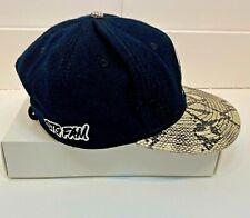 STG FAM Otto Snapback Hat With Embroidered Logo Snakeskin Pattern Bill 3030 Pro