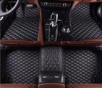 6 Colors Car Floor Mats for Hyundai Equus 4 Seats 2009-2016 Waterproof Carpet