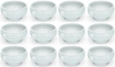 de 12 Set löwenkopfsuppentasse, Bol à soupe, porcelaine, blanc, 0,45 LITRES