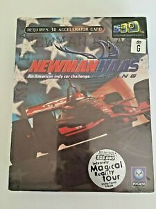 RARE Newman Haas Car Racing PC Game Psygnosis 1998 Vintage (NEW - Sealed in Box)