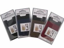 Cell Phone Stickable Pouch as Accessory Pocket and Wallet - 4 in a set