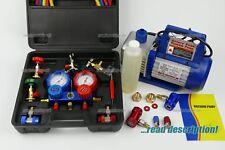 CAR Automotive R134a R12 R437a R1234yf AC calibri KIT RICARICA Recharge Strumento