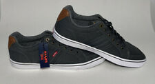 Levi's Comfort Low Top Canvas Mens Shoe Sz 13 51819510G Dark Grey