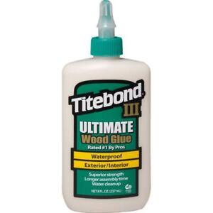 Titebond III 3 Wood Glue - 237ml (8floz) RDGTools