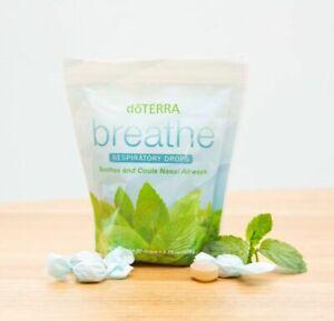doTERRA Breathe Respiratory Throat Drop 30 Counts New FREE SHIPPING Exp 2022