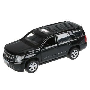 """Chevrolet Tahoe, metal model, black, 12см/ 5"""""""