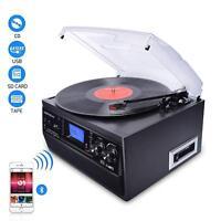 Digitnow! 3-Speed Bluetooth Record Player Turntable LP Vinyl to MP3 Converter