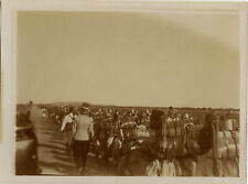 PHOTO ANCIENNE - VINTAGE SNAPSHOT - MILITAIRE ZOUAVE CARTHAGE TUNISIE - MILITARY