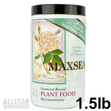Maxsea Bloom Booster Plant Food Seaweed Fertilizer 3-20-20 1.5lb 680g Powder