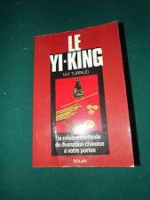 Le Yi-King  mf Turpaud, la célèbre méthode de divination chinoise  A14