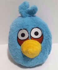 "Angry Birds Plush Blue Bird 5"" Commonwealth 2010 EUC"