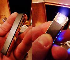 Luxus Feuerzeug Glühspirale Elektronisch USB Aufladbar Sturmfeuerzeug Lighter