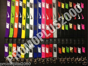 Nike Jordan Adidas Lanyard Detachable Keychain iPod Camera Badge Document Holder