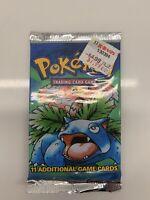 Pokemon BASE SET Unlimited Booster Pack Venasaur Art 20.29g