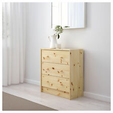 NEW IKEA RAST 3 DRAWER DRAWERS SOLID PINE UNIFINISHED CHEST DRESSER STORAGE