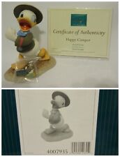 "WDCC ""Happy Camper"" Donald Duck from Disney's Good Scouts in Box COA Pin"