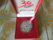 1995 Singapore 30 Years of Independence NDP $5 Silver Proof Coin