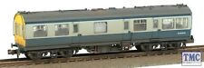 N Gauge Graham Farish 374-877 LMS 50ft Inspection Saloon Blue Grey Coach