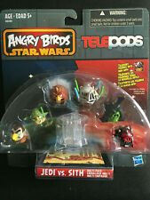 NEW ANGRY BIRDS STAR WARS TELEPODS Jedi vs Sith Multi Pack 6 Pack