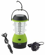 Vango Galaxy Eco Lantern - Rechargeable 12V/240V Wind Up & Solar Camping Lantern