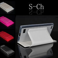 For Blackberry Leap New Card Slot Wallet Flip Stand Phone Case Cover Skin Case