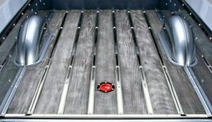 Bed Strips Ford 1928 1929 1930 1931 Polished Stainless Steel Model A Truck Wood