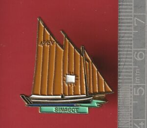Boat pin badge - Barque