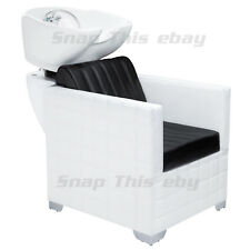 Salon Shampoo Hairdressing Barbers Back Wash Sink Basin Chair Barber Hairdresser