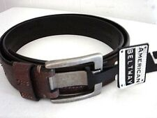 AMERICAN BELTWAY Brown Leather Belt Size 40 NEW