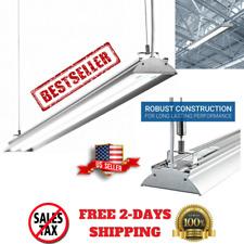 Workshop Light Fixture LED 4 Foot Garage Basement Utility Room Shop 4500 Lumens