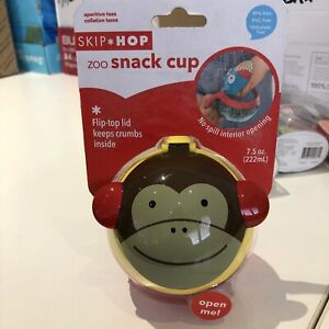 Skip Hop ZOO SNACK CUP Baby Toddler Feeding Cup