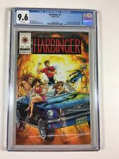 Harbinger #1 CGC Graded 9.6 (Valiant comic 1992) 1st Appearance Sting Faith +