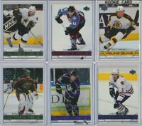 2006-07 Upper Deck Series 1 YOUNG GUNS Rookie U-Pick COMPLETE YOUR SETS