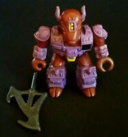 1987 Battle Beast Series 1 Bloodthirsty Bison #25 Figure by Takara w/ weapon